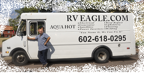 We fix any motorhome at RV Eagle